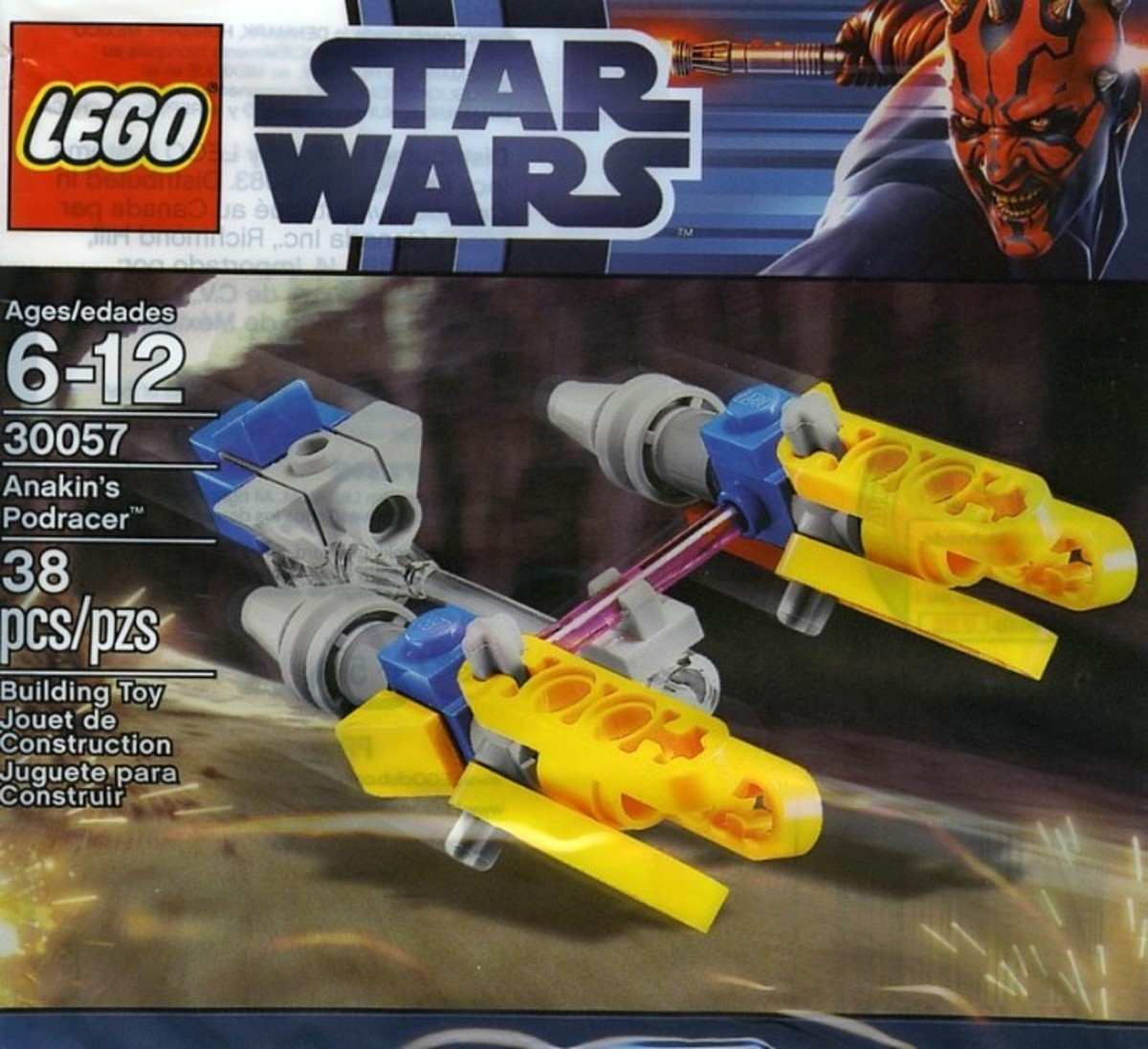 LEGO Star Wars Anakin's Pod Racer 30057 Bag