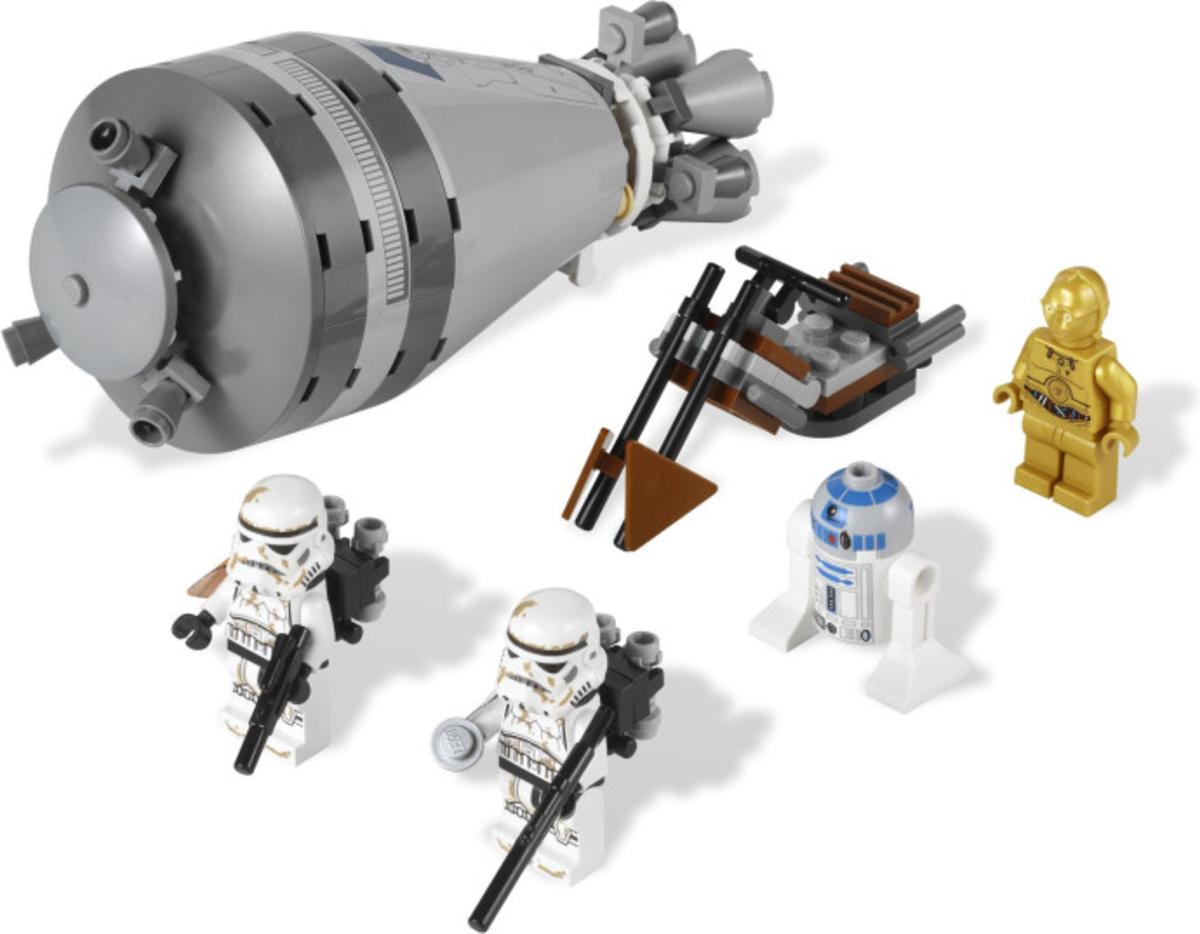 LEGO Star Wars Droid Escape 9490 Assembled