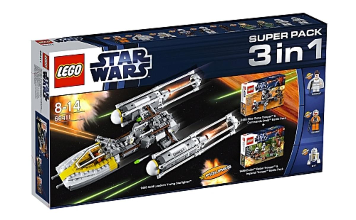 LEGO Star Wars Super Pack 3-in-1 66411 Box