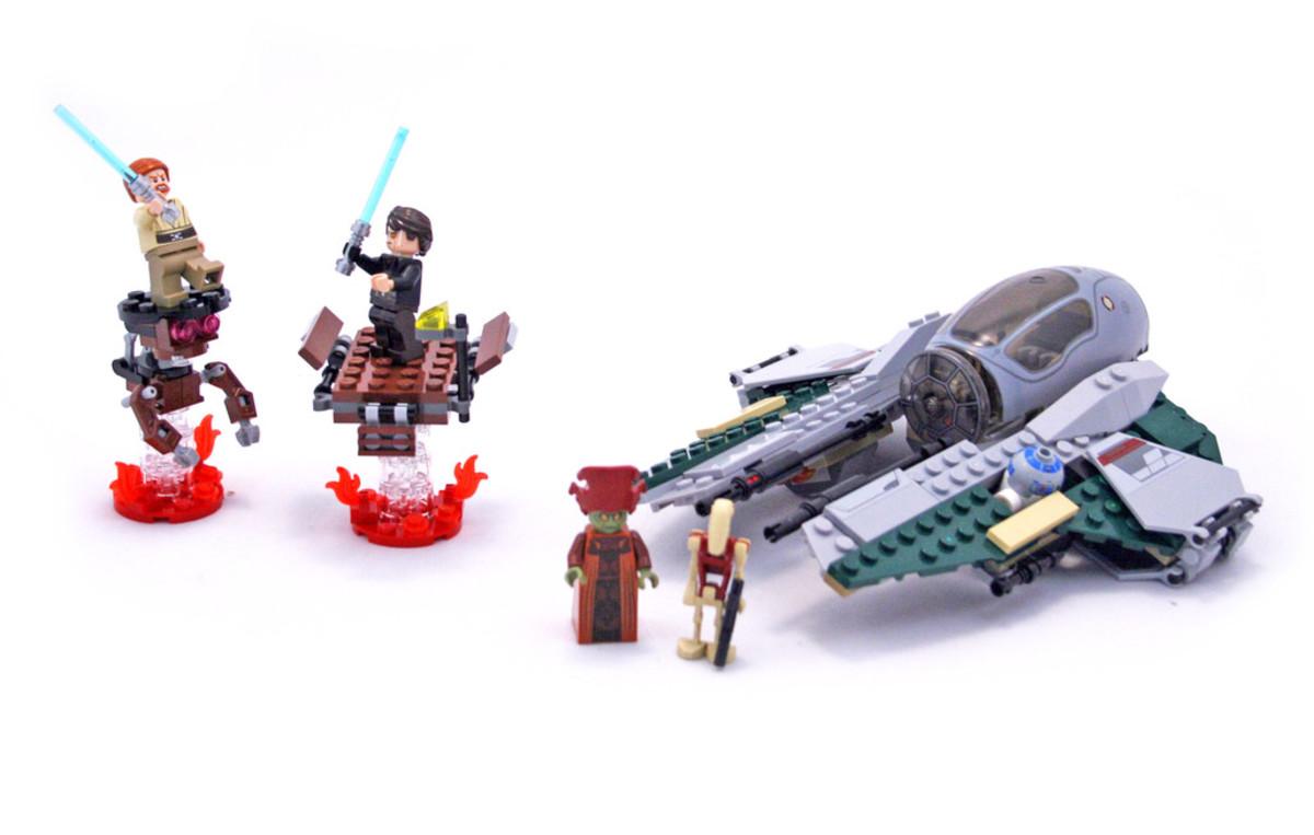 LEGO Star Wars Anakin's Jedi Interceptor 9494 Assembled