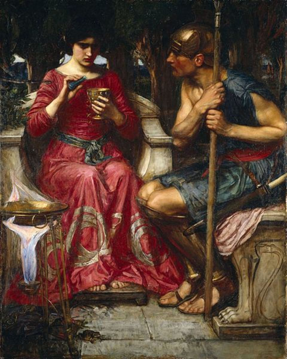 John William Waterhouse (1849–1917) PD-art-100