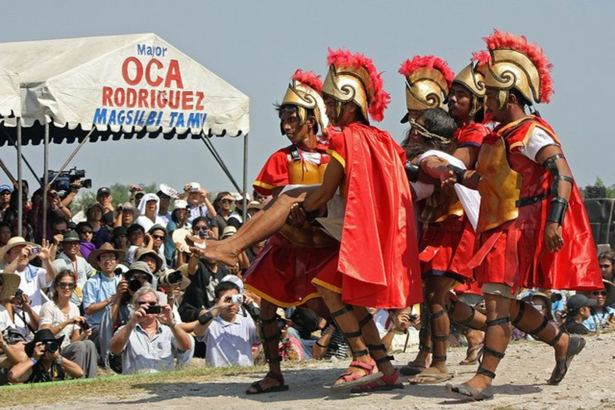 The annual crucifixion and self-flagellation rituals on Good Friday attract a lot of local and foreign visitors to San Fernando in the Province of Pampanga, the Philippines