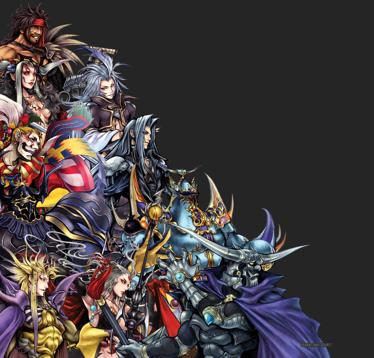 Villains from Final Fantasy 1-10