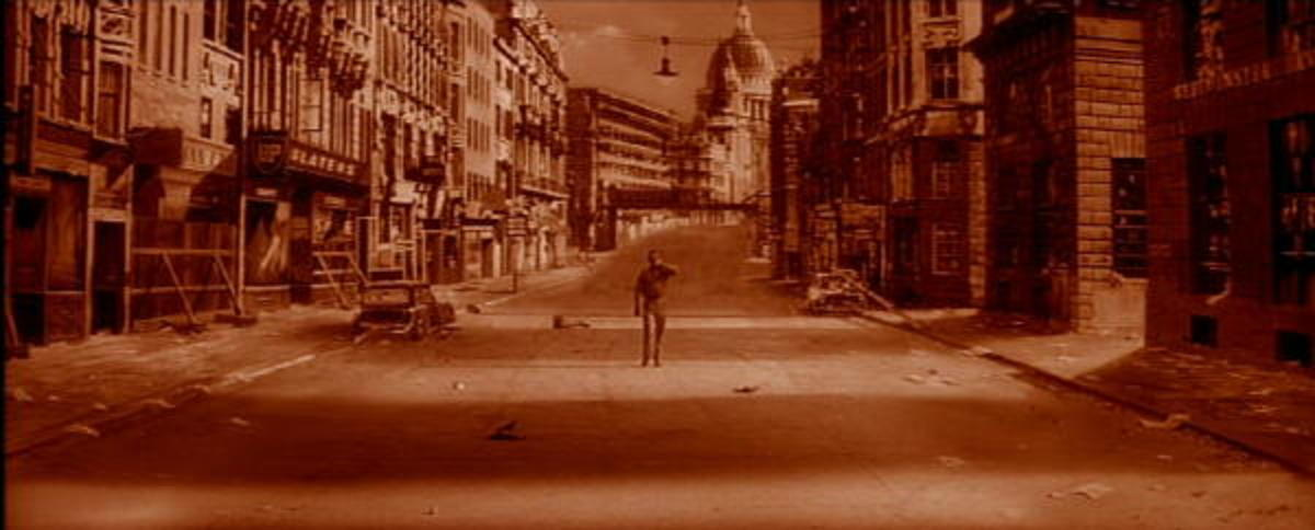 Opening scene from The Day The Earth Caught Fire.