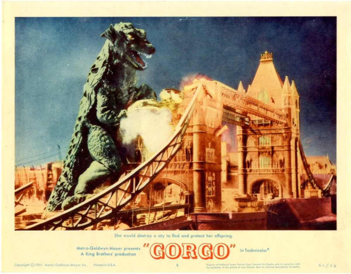 Gorgo poster.