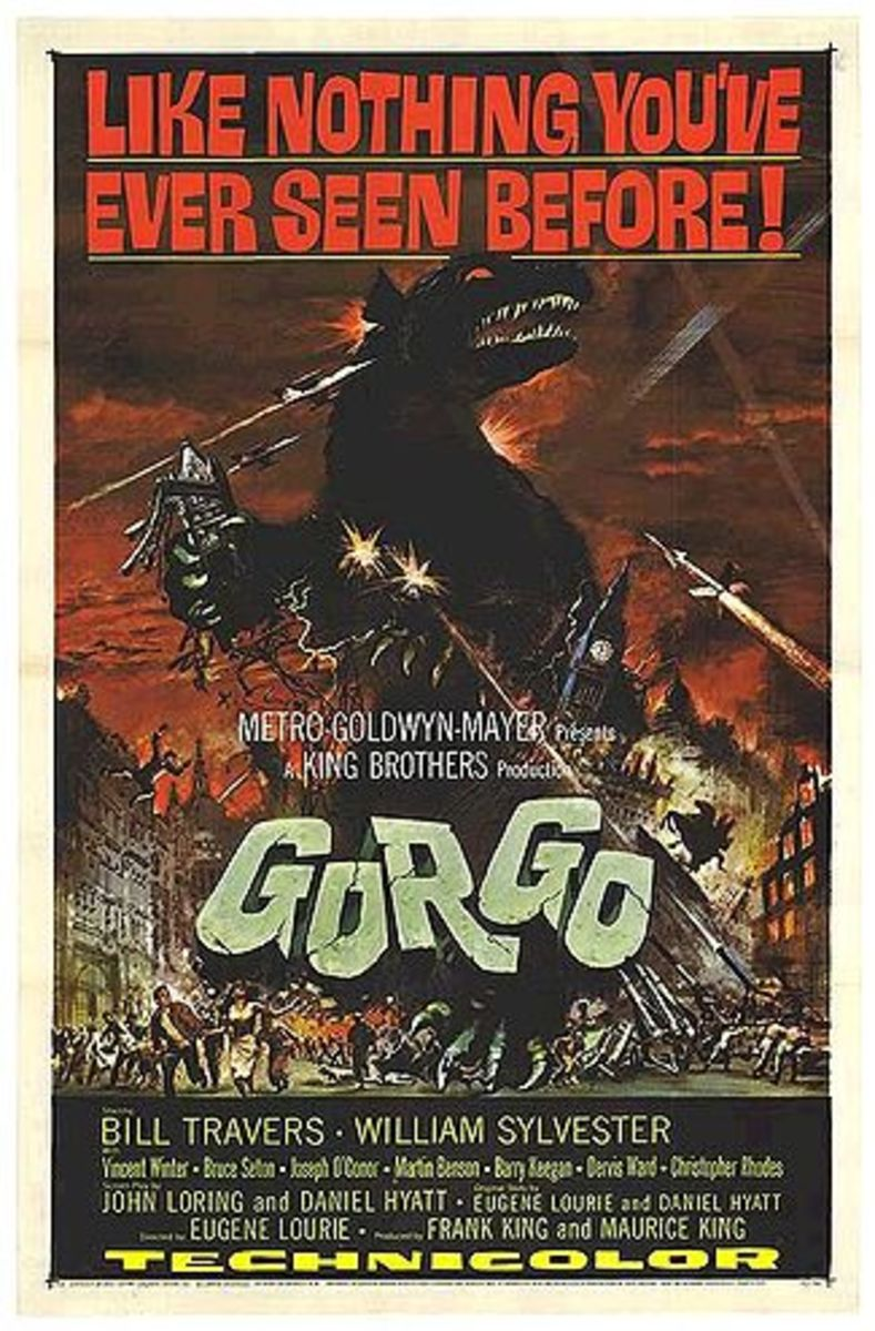 Gorgo 1961 Movie Poster