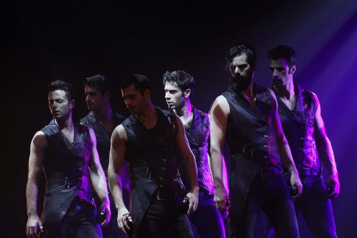 Men take interest in modern dance.