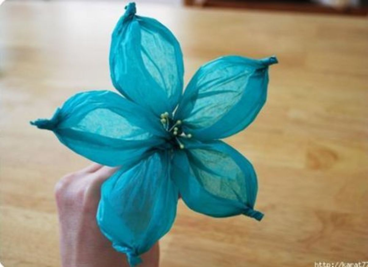 40 Creative Tissue Paper Craft Ideas