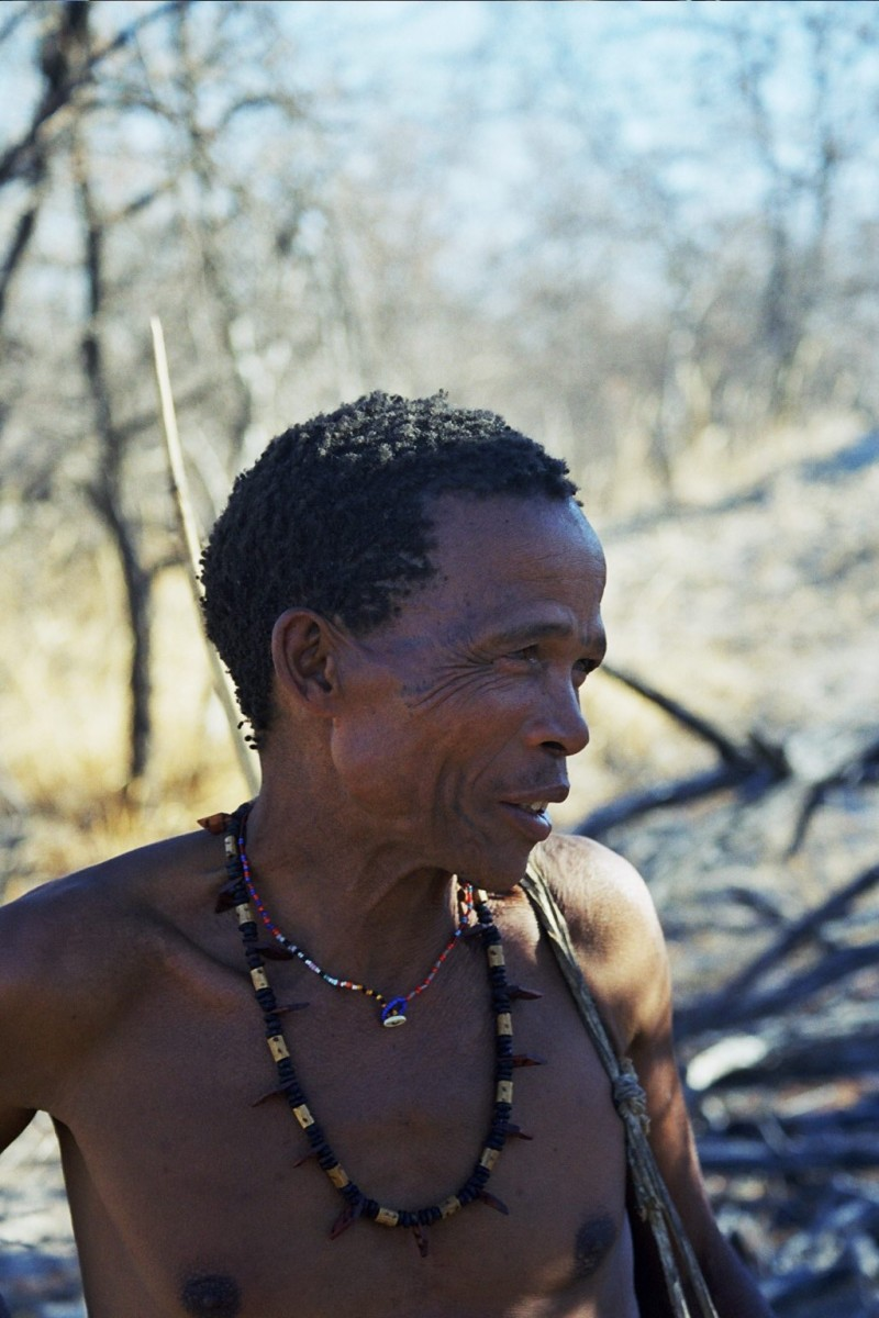 Bushmen at Tsumkwe.