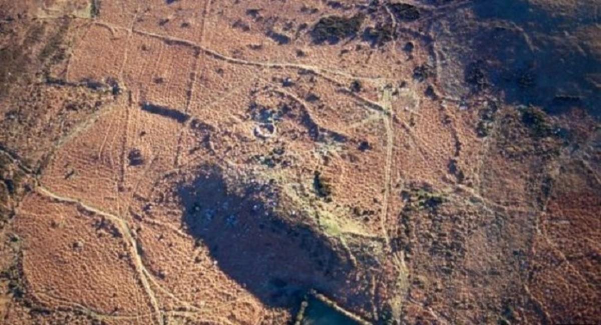 Dry upland soil