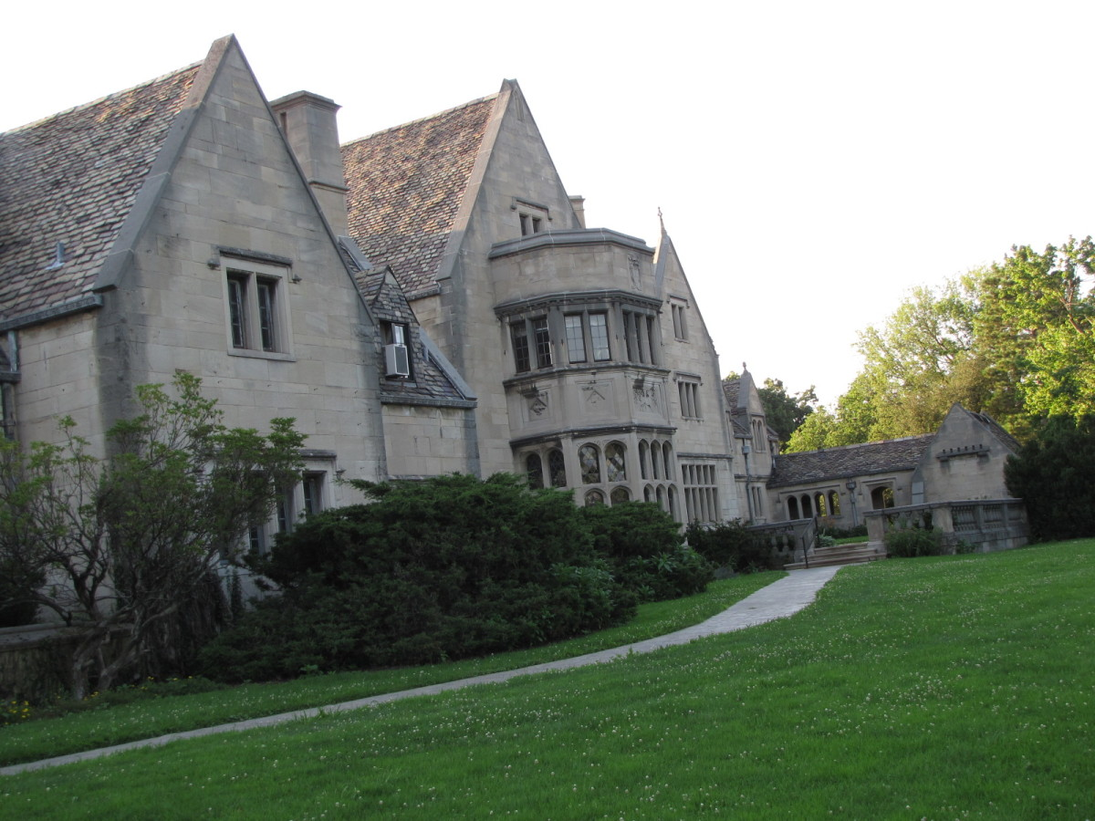 Back of Hartwood Acres Mansion