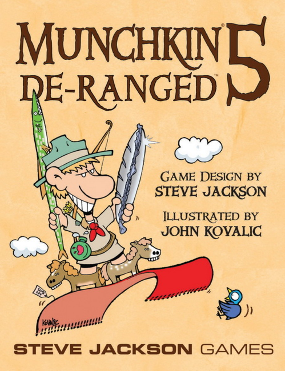 The box art for Munchkin 5: De-Ranged