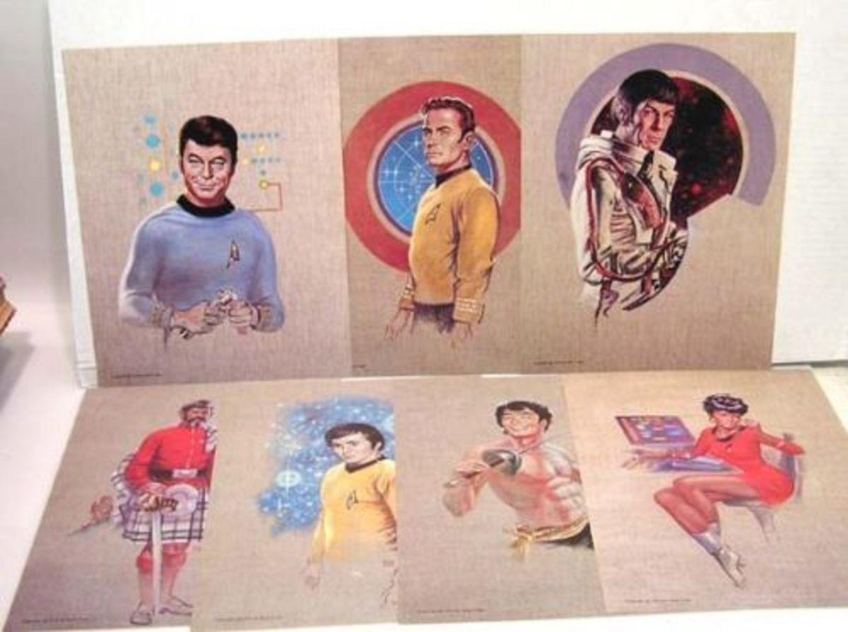 The 1976 Star Trek Portfolio by Kelly Freas