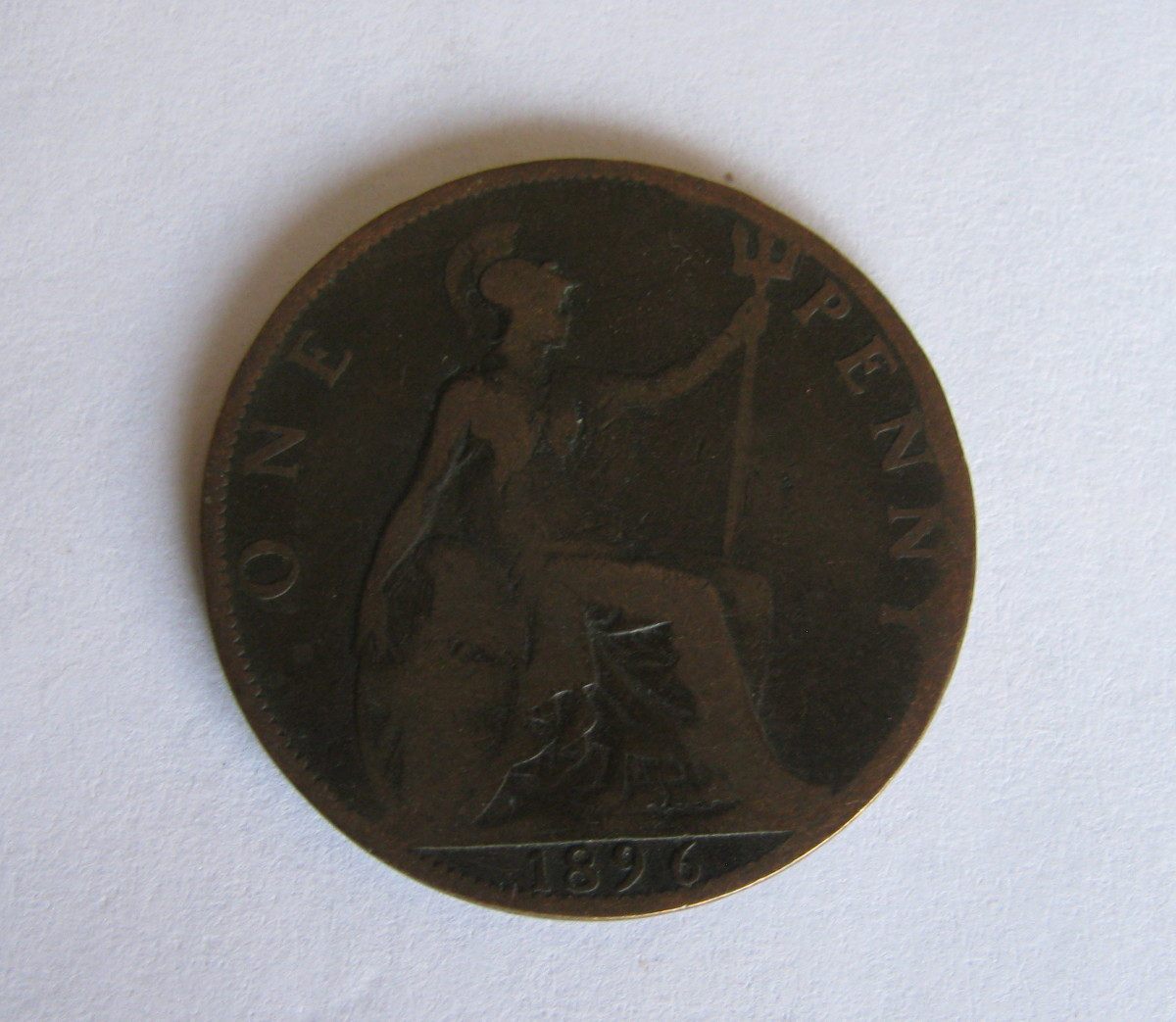 Victorian Penny 1896