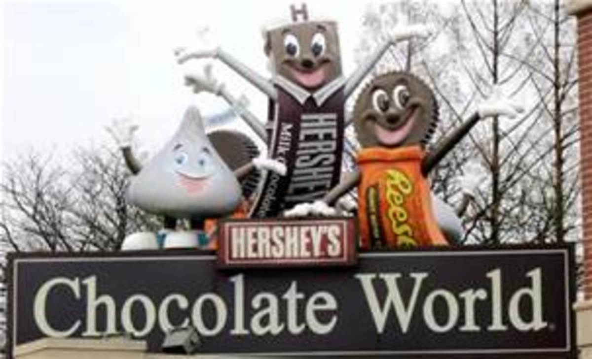 Entrance To Chocolate World