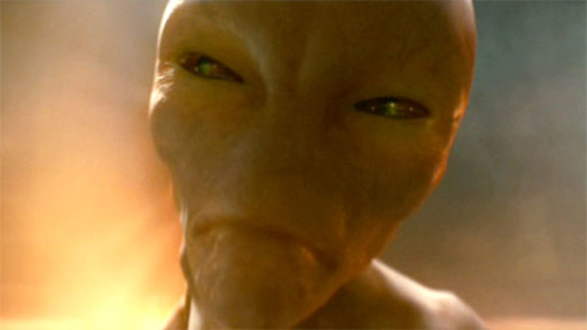 Don't call him an alien...