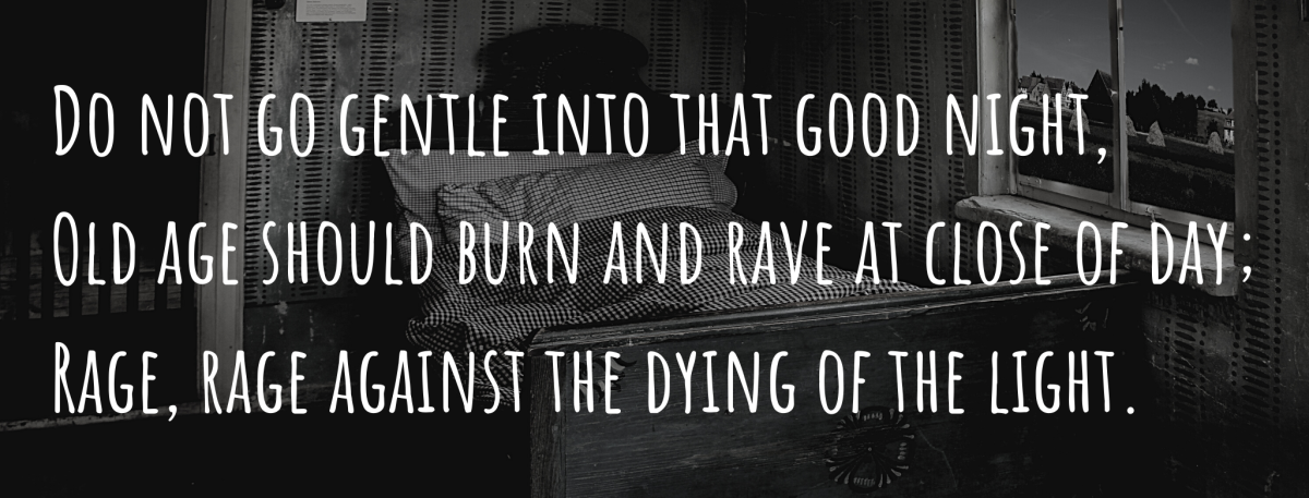 First Stanza (Text by Dylan Thomas)
