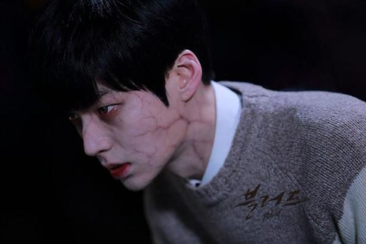 "South Korean actor Ahn Jae Hyun transforms into a vampire in the drama ""Blood"""