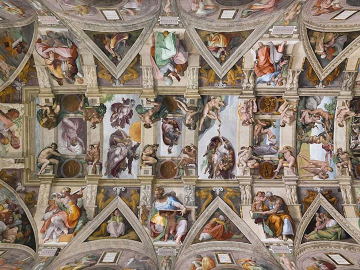 Ceiling of the Sistine Chapel, Rome
