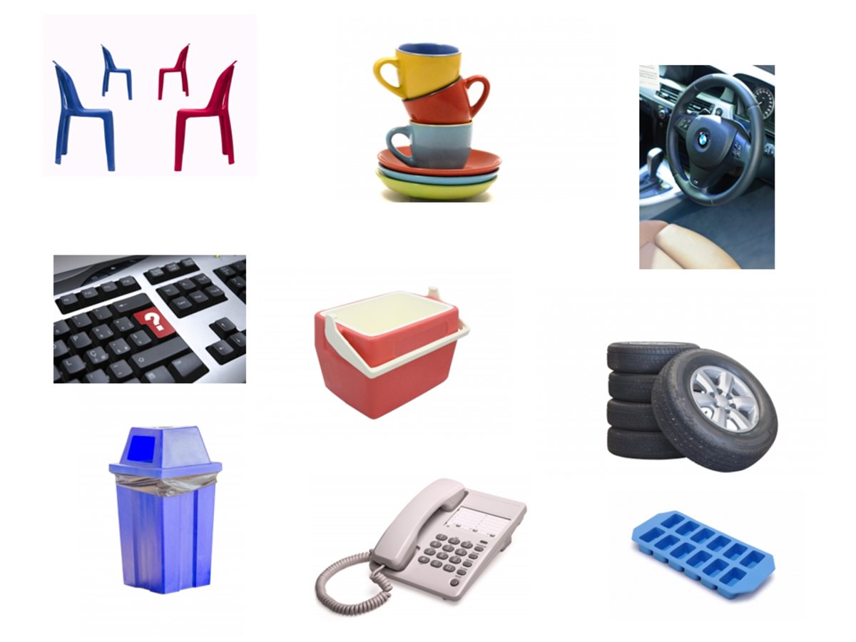 Plastic Products Made from Thermoset Plastics