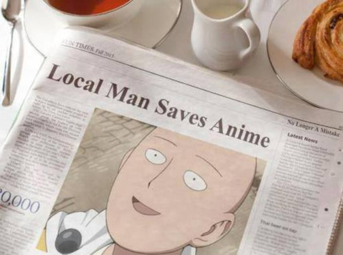Saitama in local news.