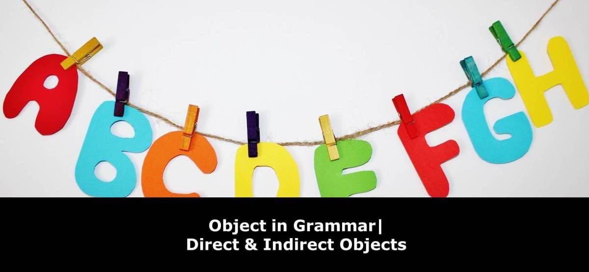 What is Object in Grammar?