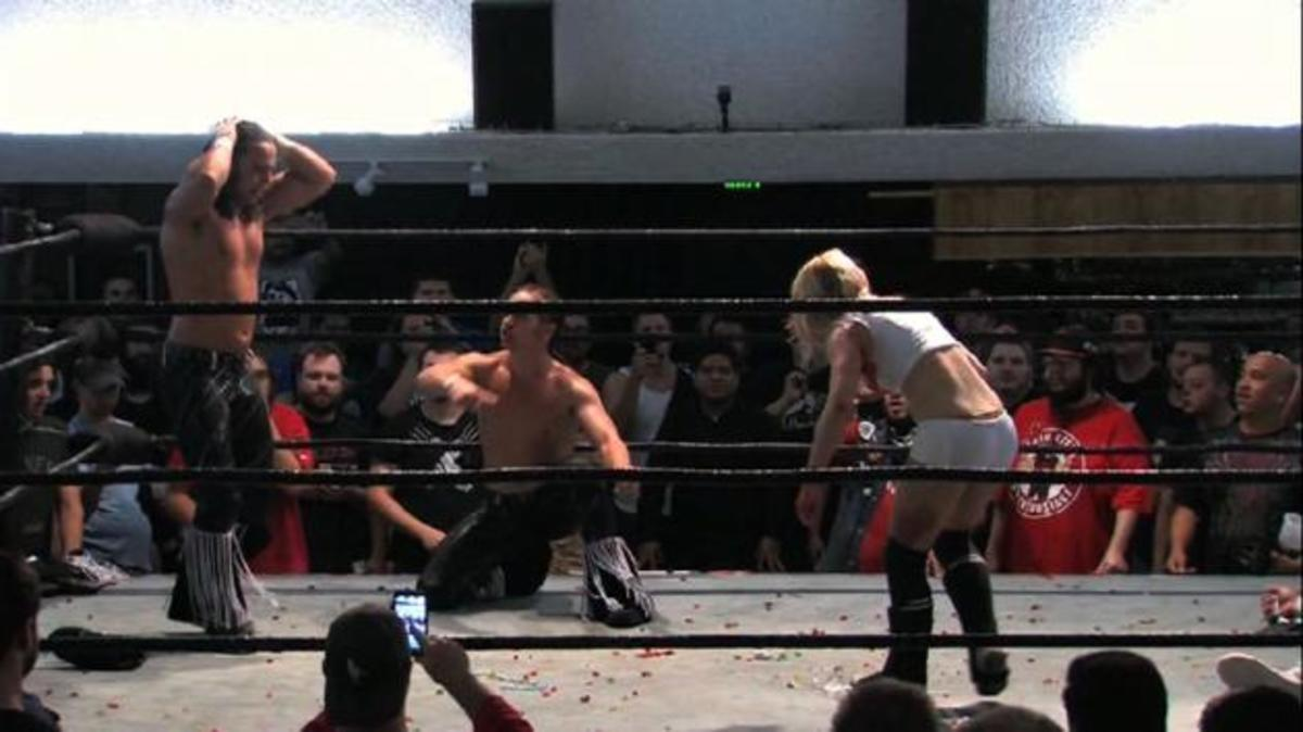 201 Non WWE Matches to See Before You Die #6: Young Bucks vs. World's Cutest Tag Team
