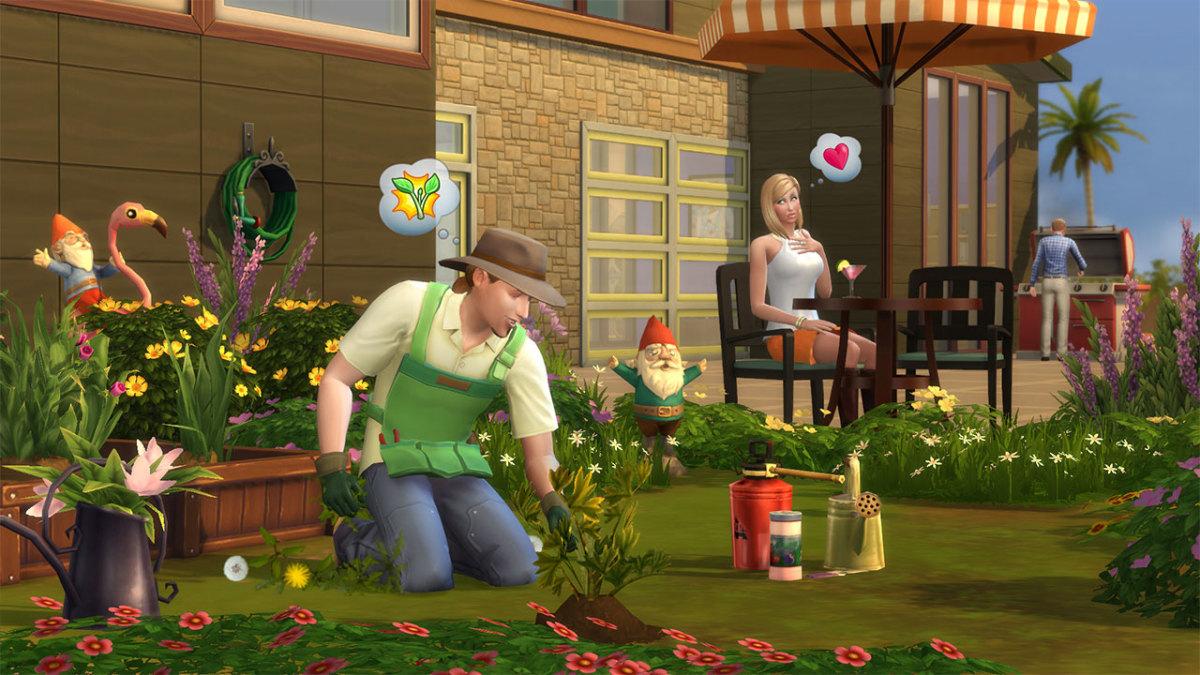 A gardening Sim