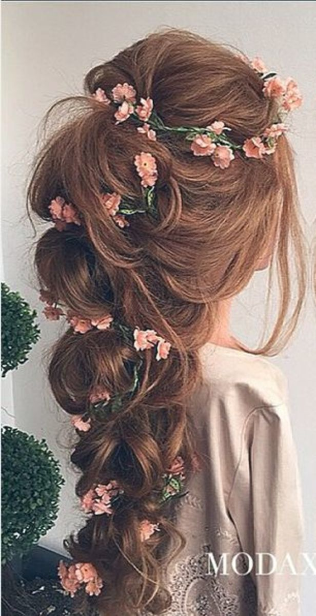 45+ Photos of Romantic Bridal Hair Styles   HubPages