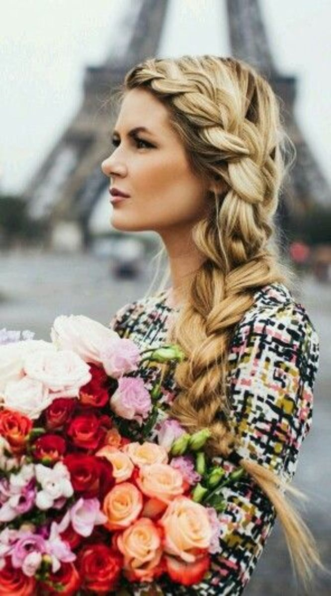 Fairy tale hair braid