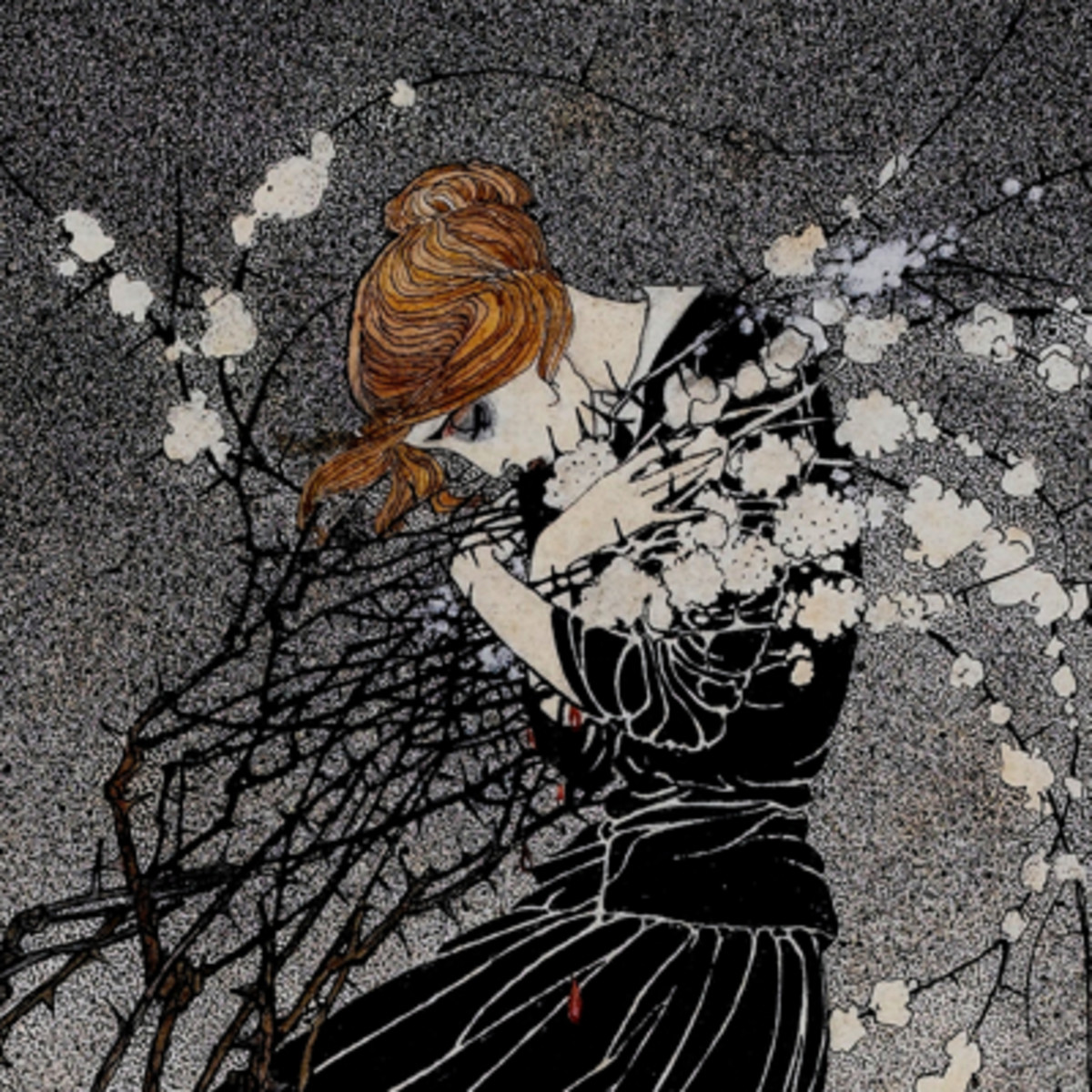 """Here we show a portion of """"The Story of a Mother"""", a design by Kay Nielsen inspired by the eponymous tale from Hans Christian Anderson."""