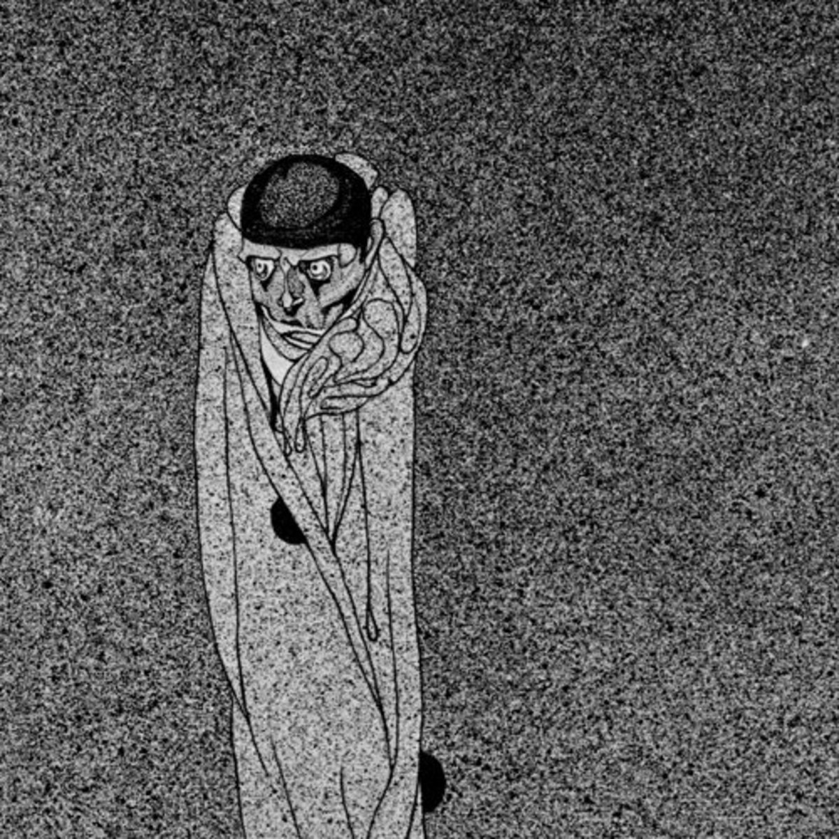 "Here we show a portion of ""Shadows of the Night"" - a design by Kay Nielsen that is associated with his suite known as ""The Book of Death""."