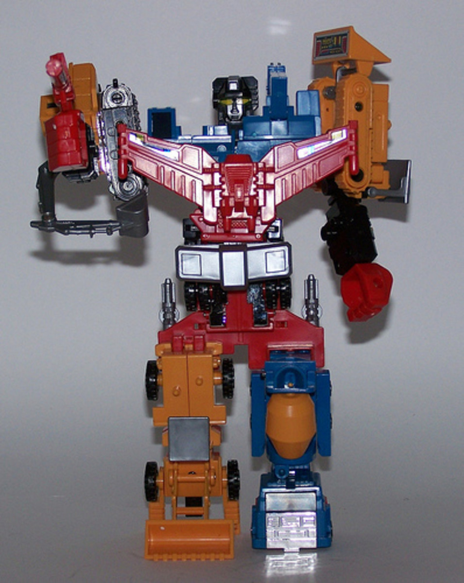 The Diaclone version of the mighty Devastator.