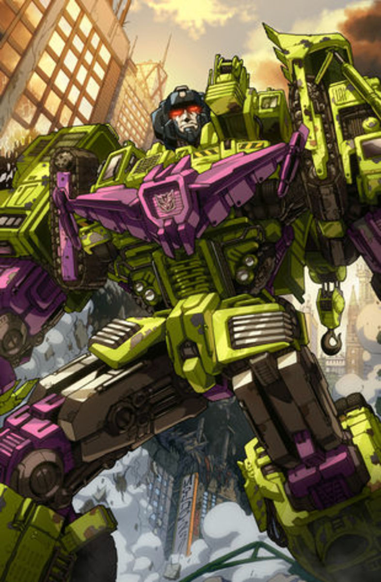 Transformers Generation 1 Devastator - The First Combiner