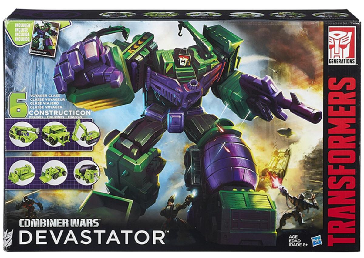 Transformers Devastator Combiner Wars Titan Edition