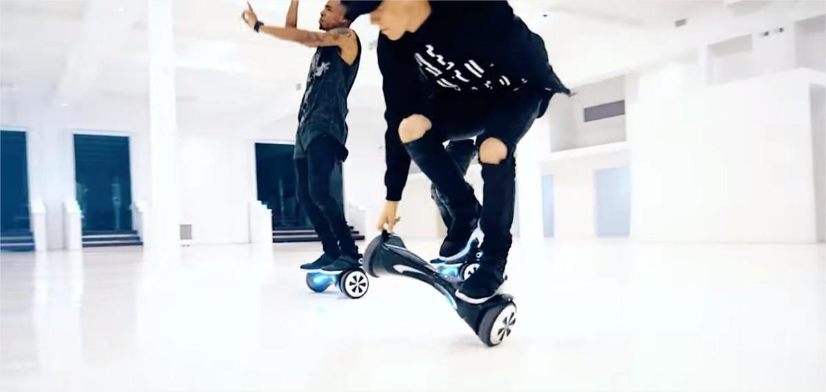 Swagtron hoverboard | Like I Would - Zayn Malik / Epic Hoverboard Dance Cover @zaynmalik