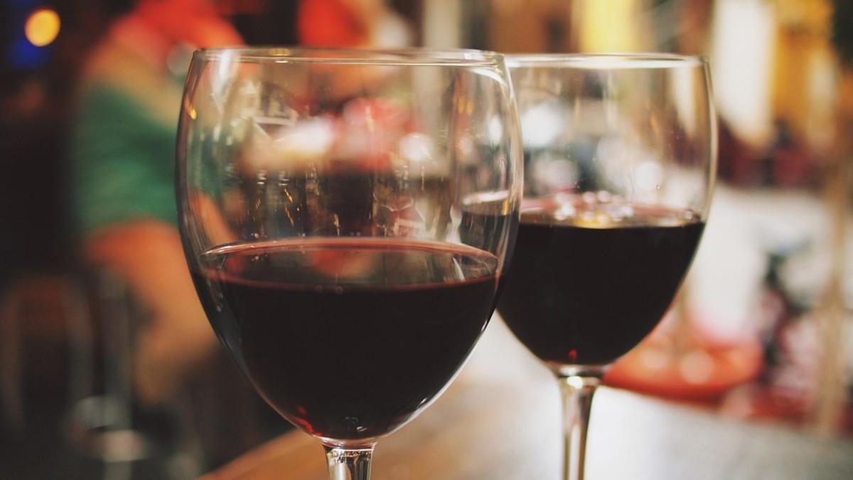 When in doubt - wine.