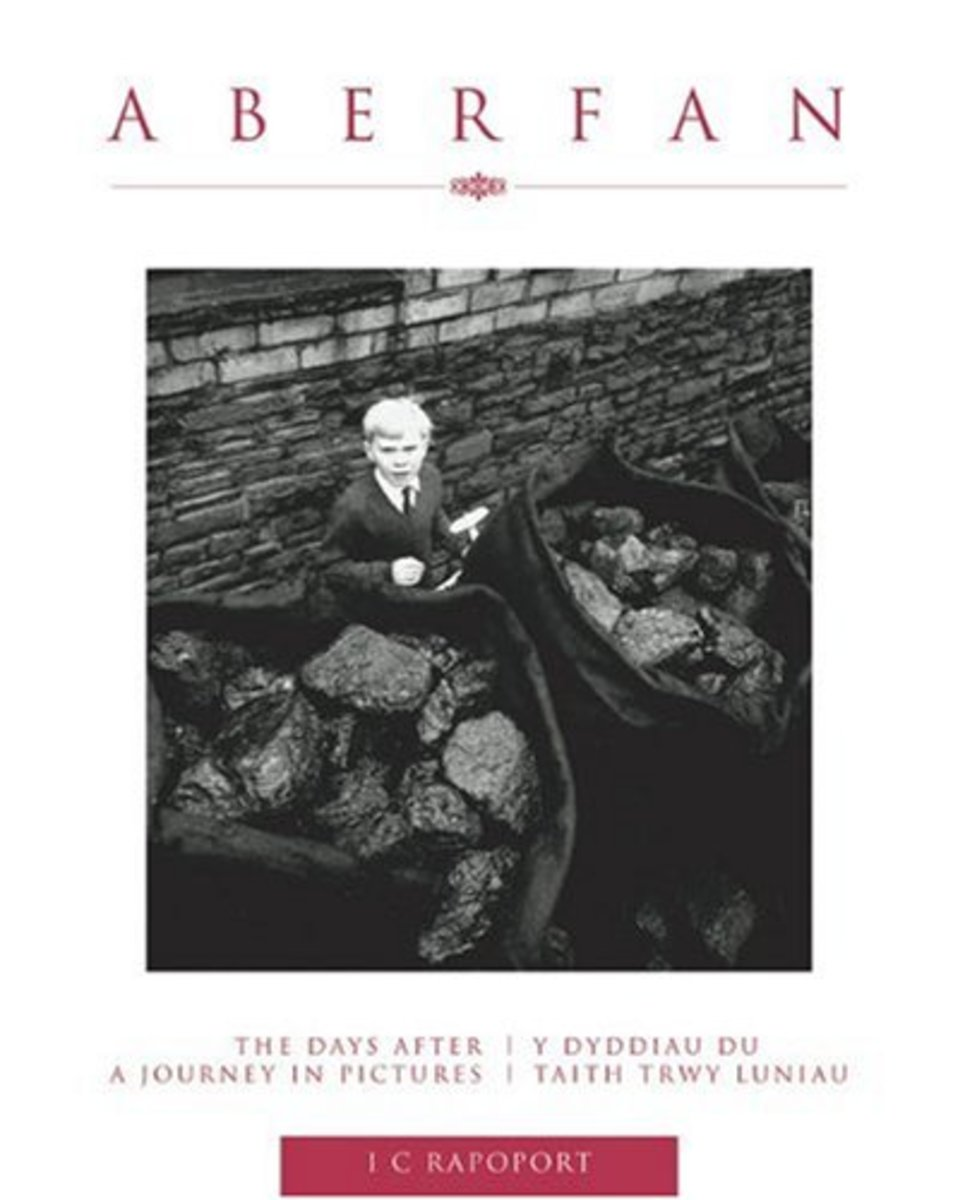 Aberfan, by IC Rapoport. Photo is of Jeff Edwards, Aberfan survivor.