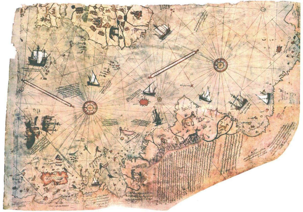 the-reality-and-myth-of-the-piri-reis-map-of-1513