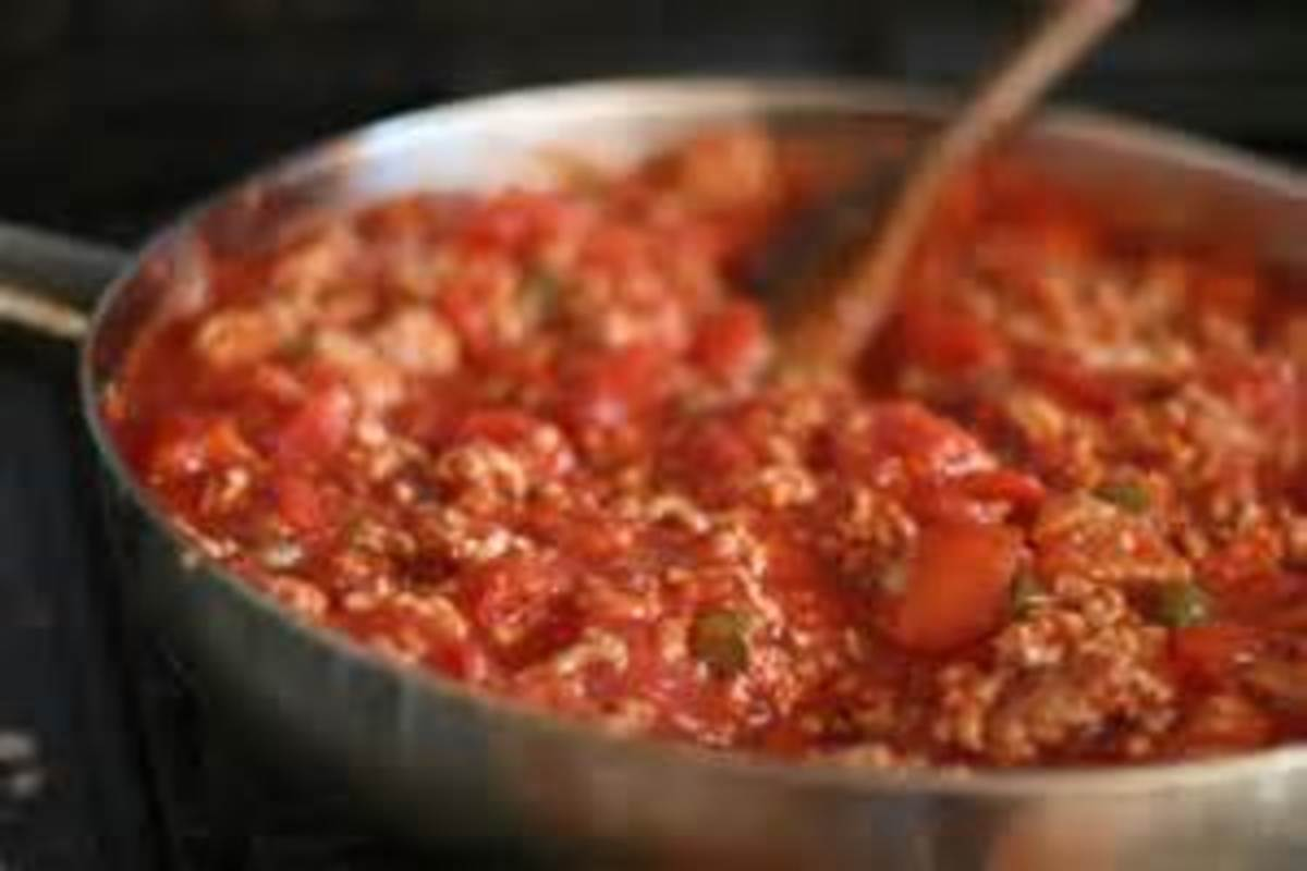 Home made spaghetti sauce