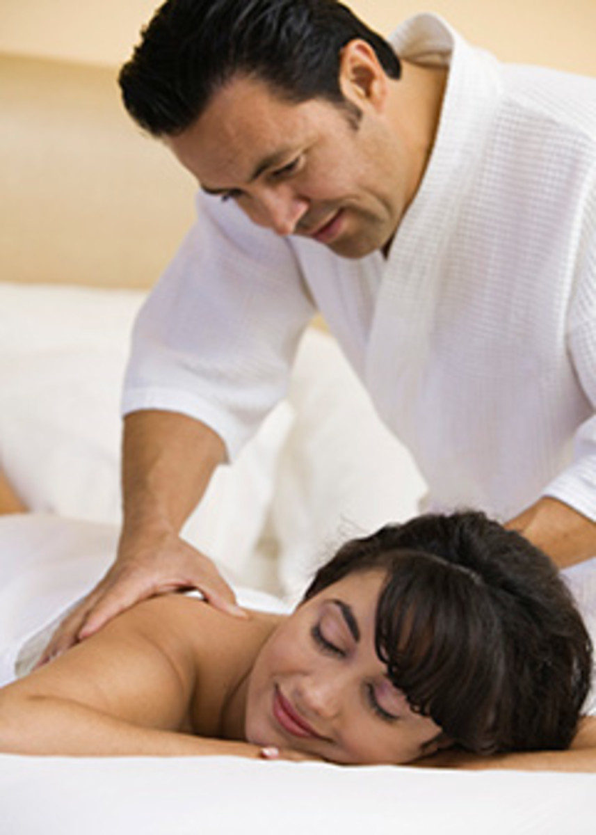 If you are looking for a well paying part time job, consider becoming a Massage Therapist .