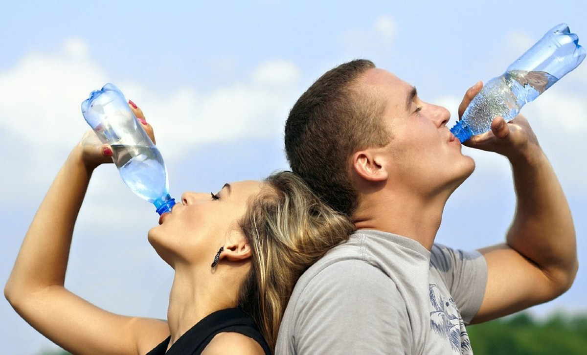 Drink water to flush sugar out of your body.