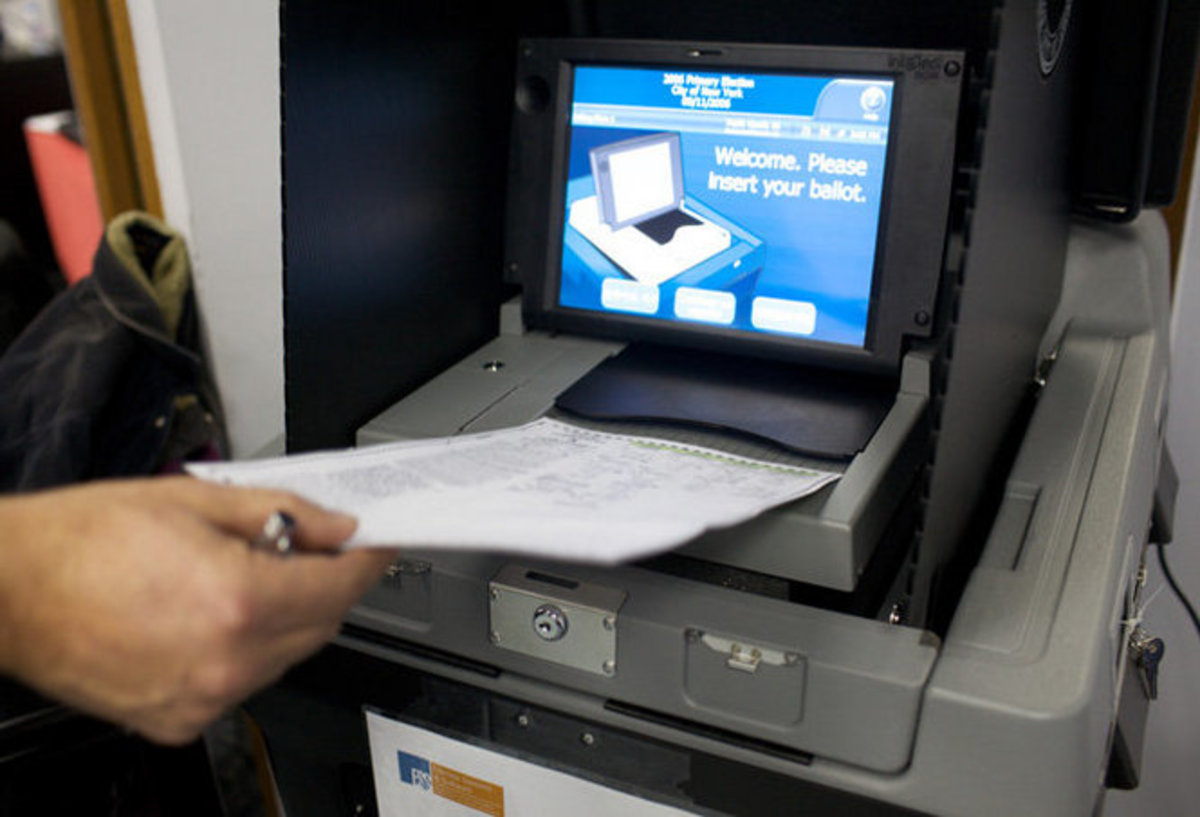 Election Officials Hide Potential Proof of Electronic Vote Rigging on Tuesday