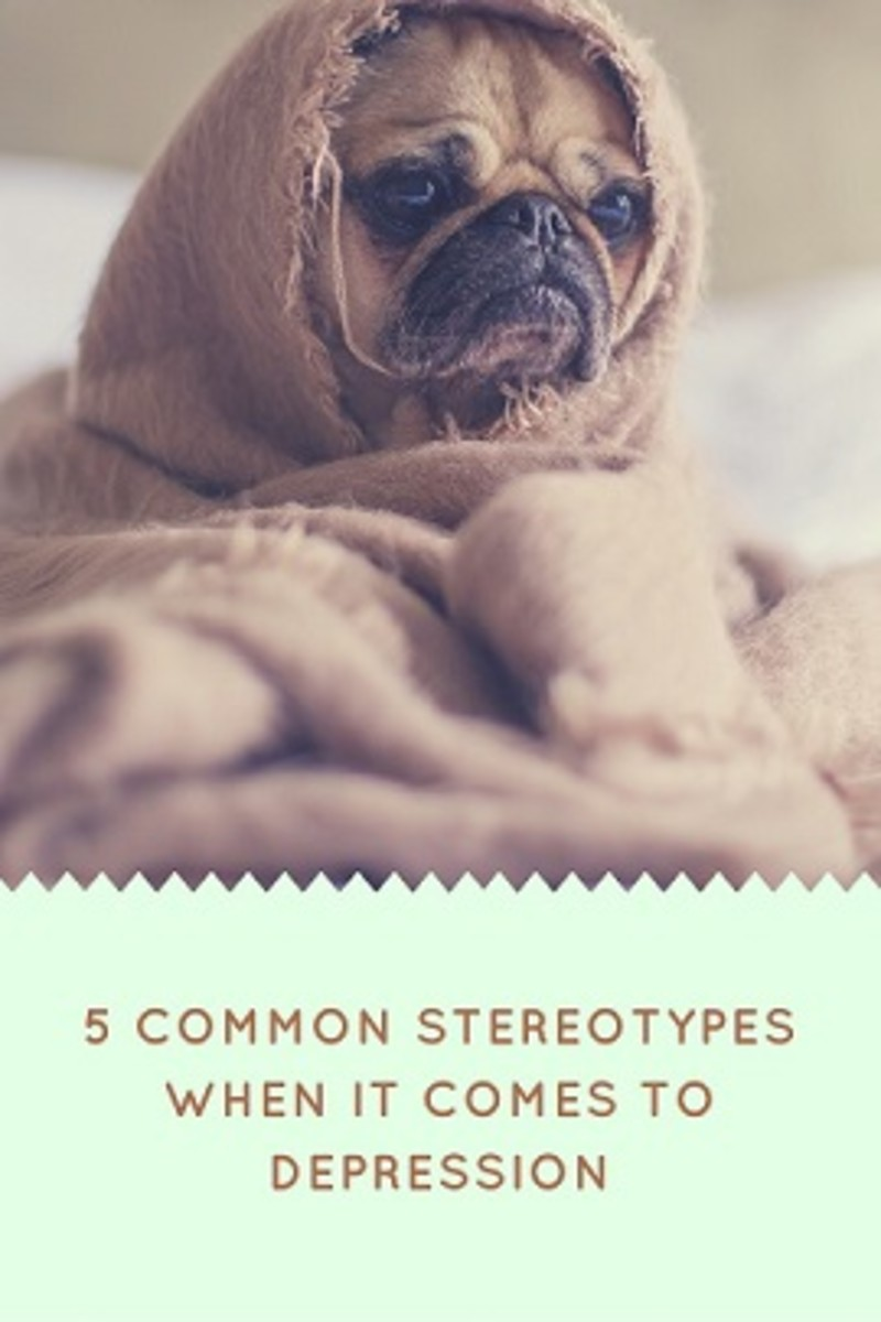 5 Common Stereotypes When it Comes to Depression