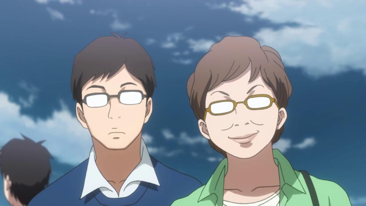 Hagita's parents.