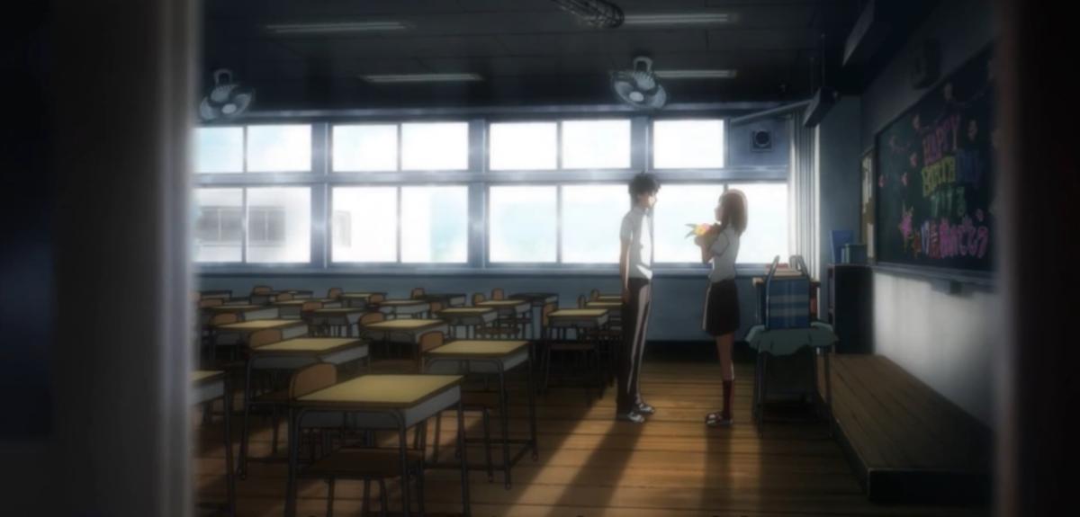 Kakeru confessing his love to Naho.