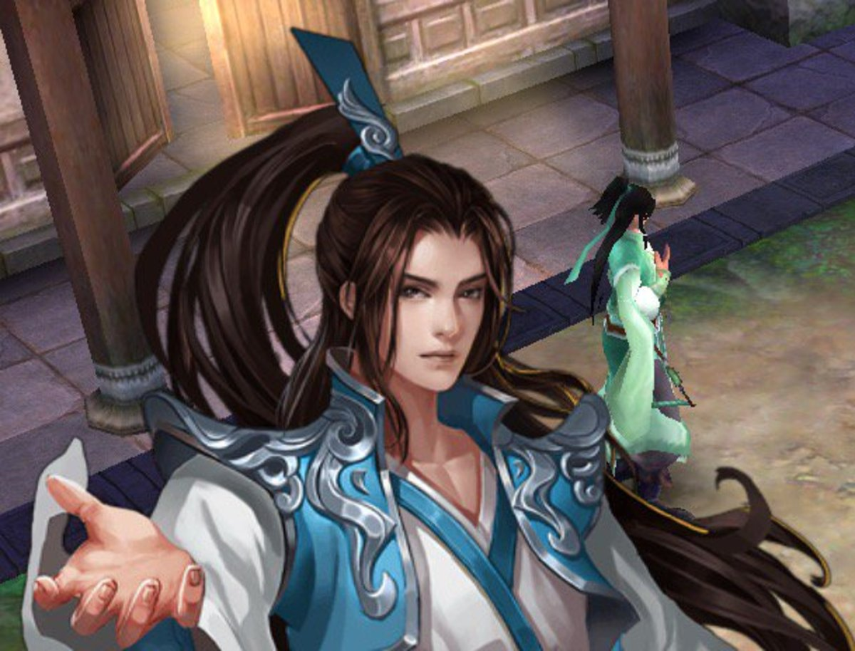 """Official """"Sovereign of the Three Realms"""" Chinese Web Novel Illustration"""