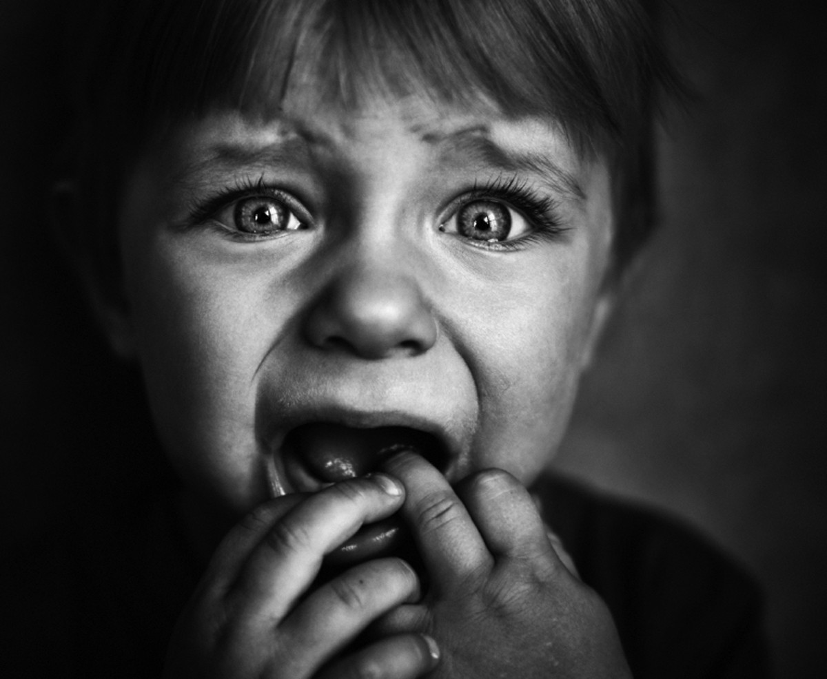Children in large families grow up in extremely difficult, even harsh environments. There are very little parental resources allotted to each child whether it is emotional, psychological, or socioeconomic. It's common for such children to do WITHOUT.