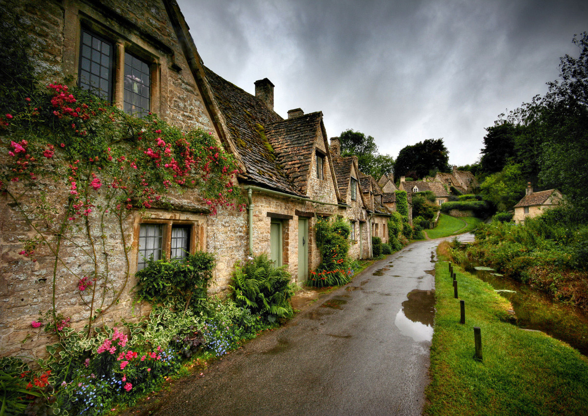 The Charming Village of Bibury