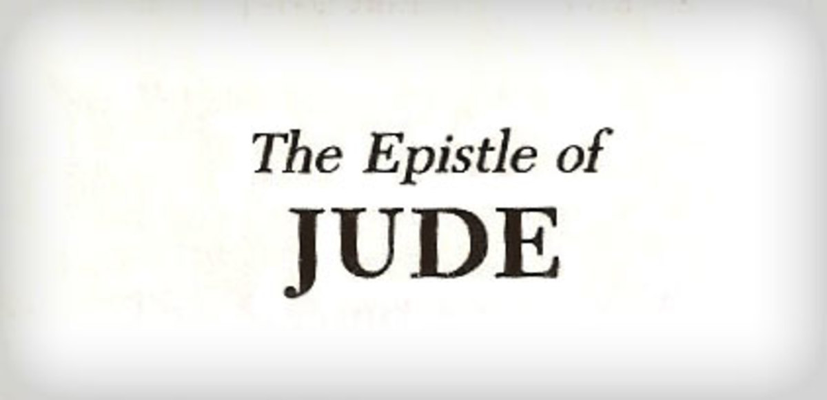 The Epistle/Letter of Jude
